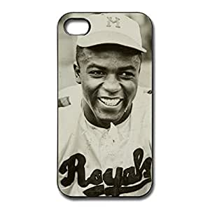 Jackie Robinson Thin Fit Case Cover For IPhone 4/4s - Classic Skin