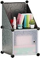 Cubic cabinet, grey
