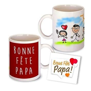 Mug personnalisé avec les dessins de vos enfants-Cadeau personnalisable 97e615fdbcf