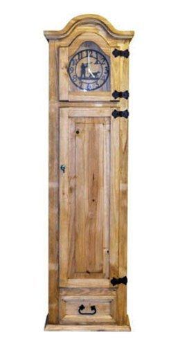 Amazon.com: Grandfather Clock with Hidden Lockable Gun Cabinet ...