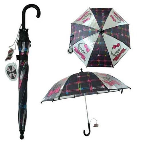 Girl's Black Monster High Umbrella