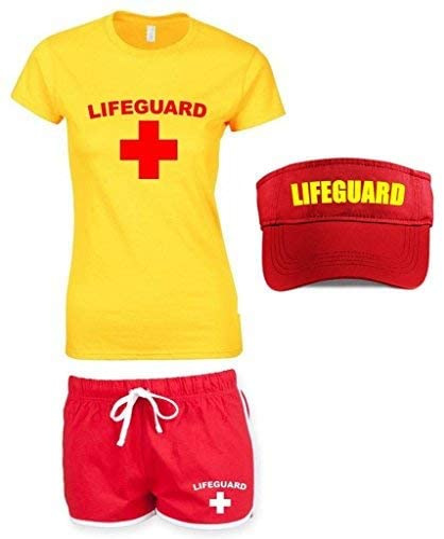 Direct 23 Ltd Disfraz de socorrista para Mujeres - 34: Amazon.es ...