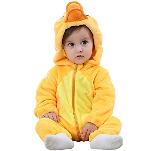 Duck Halloween Costume Toddlers (Halloween Baby Duck Costumes Toddler Onesie Pajamas Infants Cosplay)