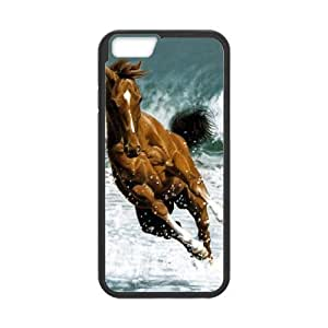 """HEALTH Horse Phone Case For iPhone 6 Plus (5.5"""") [Pattern-1]"""