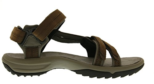 Sandales Lite W's Marron De brown Teva Terra Brn Leather Sport Femme Fi wBgEX