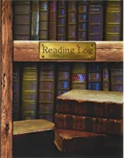 """Reading Log: Gifts for Book Lovers / Reading Journal [ Softback * Large (8"""" x 10"""") * Antique Books * 100 Spacious Record Pages & More... ]"""