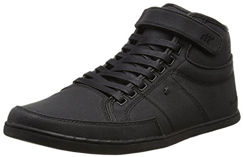 Boxfresh Swich BSC Negro Hombres Lona Hi Zapatos Botas