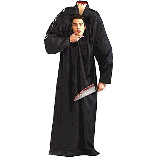 Coolest Halloween Costumes For Adults (Headless Man Adult Costume - Standard, Black, Size)