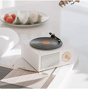 Altavoz PORTATIL Vintage Bluetooth-5.0, Sonido Estereo HD HiFi ...