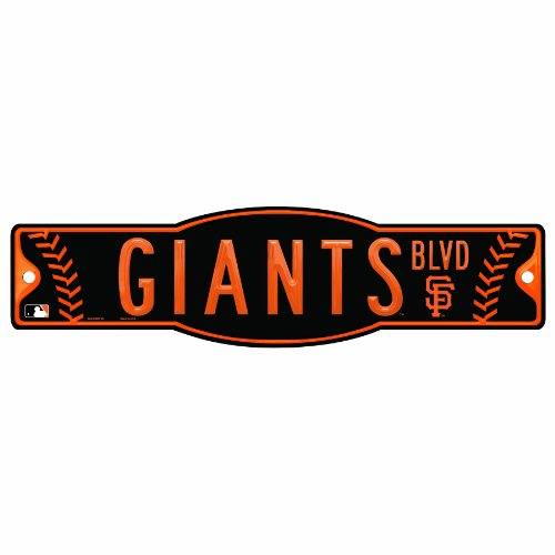 MLB San Francisco Giants 4.5-by-17 Sign