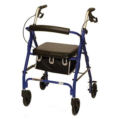 ProBasics Junior Rollator with Loop Brakes and Pouch (Blue)