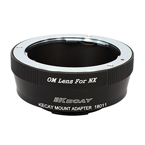 KECAY OM-NX Lens Mount Adapter for Olympus OM Zuiko Lens to Samsung NX1, NX500, NX3300, NX3000, NX300M, NX300, NX2000, NX1000, NX210, NX200, NX30, NX20, NX5 Camera Adapter (Samsung Nx1000 Accessories)