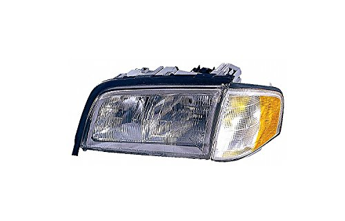 Depo 340-1101L-ASC Mercedes-Benz C-Class Driver Side Replacement Headlight Assembly with Corner Light (Assembly Headlight C280)
