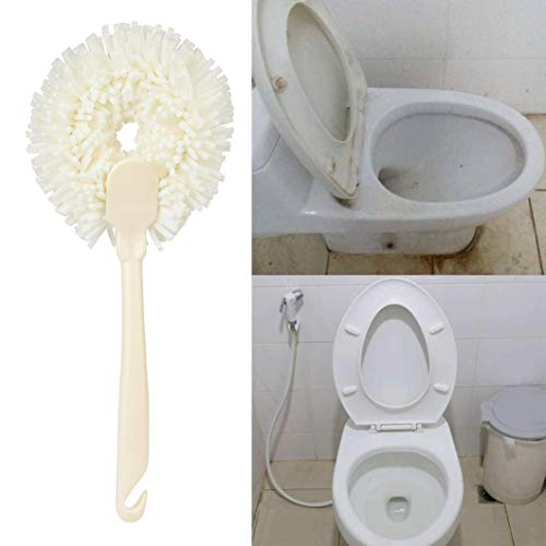Handle Sponge Cleaner Brush Toilet Bathtub Wall Surface Kitc