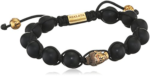 Nialaya - Bracelet - Argent 925 - 0.08 cm - MBG8_016 - M - Kugeln