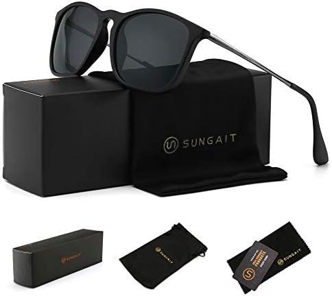 SUNGAIT Classic Square Frame Sunglasses product image