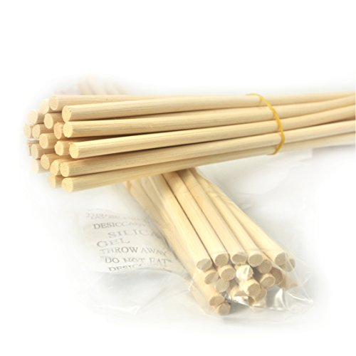 (Ougual Rattan Reed Diffuser Replacement Refill Sticks (8.7