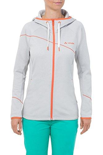 VAUDE Jacke Women's Civetta Jacket - Sudadera con capucha para mujer Gris