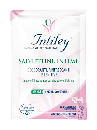 S.O.S Dr. Ciccarelli Intiley Salviettine Intime - Pacco da 10 bustine, 100 gr 0409Z00