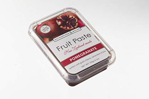 (Rutherford and Meyer Gourmet Fruit Paste for Cheese & Crackers (Pomegranate, 4-Pack))