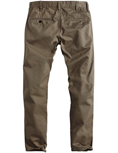 Khaki Chino Droit Pantalon Match Slim Kaki Homme 8036 light Pale 8036 O67wnxw