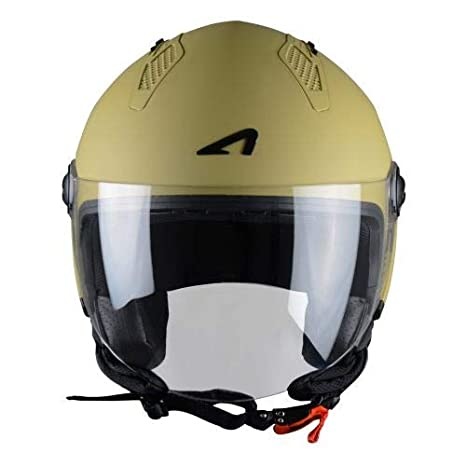 L Rouge Astone Helmets Casque Jet Mini