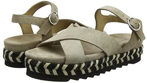 Sandale Beige Shabbies Schwarz Women's Espadrilles Black 3106 off beige qwxg5Yqr