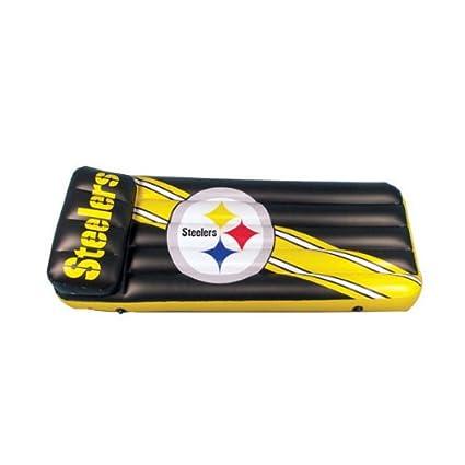 9eeb8e6aacc Amazon.com: Pittsburgh Steelers Pool Float/Mattress: Sports & Outdoors