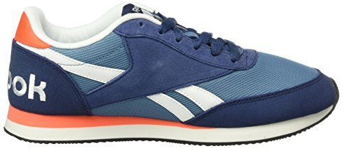 Atomic Red Slate Bleu Sport de Black Chaussures Royal Ink Cl Jog White Blue 2rs Reebok Homme 87PO1n