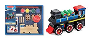 Melissa & Doug Decorate-Your-Own Train