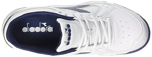 Diadora Blu Da Uomo Estate Tennis VoleeScarpe Biancobianco P0wOnk