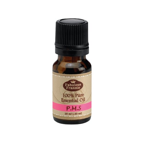 PMS Essential Oil Blend 100% Pure, Undiluted Essential Oil Blend Therapeutic Grade - 10 ml A perfect blend of Geranium, Lavender, Oregano and Clary Sage Essential Oils.