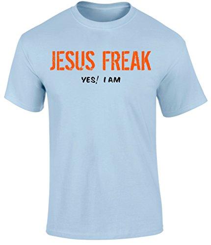 Christian Christ Bible Gospel Scripture Faith T Shirts Jesus Freak Yes! I Am by SuperPraise