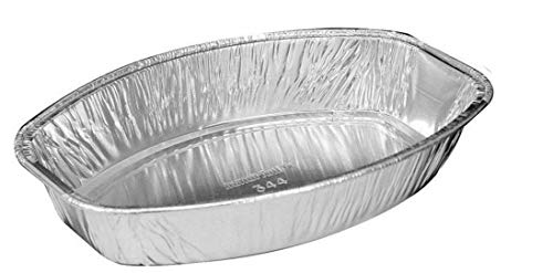- Handi-Foil Mini Oval Casserole Aluminum Pan - Disposable 22 oz Container (Pack of 12)