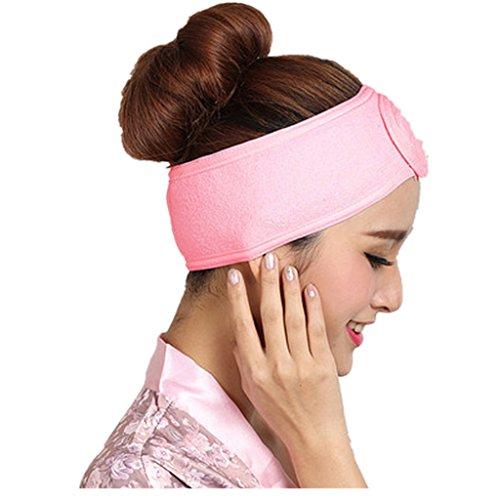 (Iuhan Wash Face Makeup SPA Hair Band Womens Sweat Elastic Soft Headband)