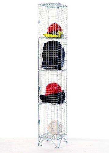premier-four-door-wire-mesh-locker-305mm-deep-by-amp-wire