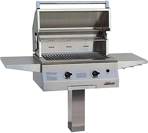 Solaire 27 Inch Deluxe All Infrared Natural Gas Grill On In-Ground Post - SOL-IRBQ-27GIRXL-IGP-NG 41ZaYjRMs2BL