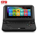 "LANRUO GPD XD Plus [2019 HW Update]-Support Google Service-5"" Touchscreen Foldable Handheld Video Game Console Android 7.0 Portable Gaming Console MT8176 Hexa-core CPU,PowerVR GX6250 GPU,4GB/32GB"