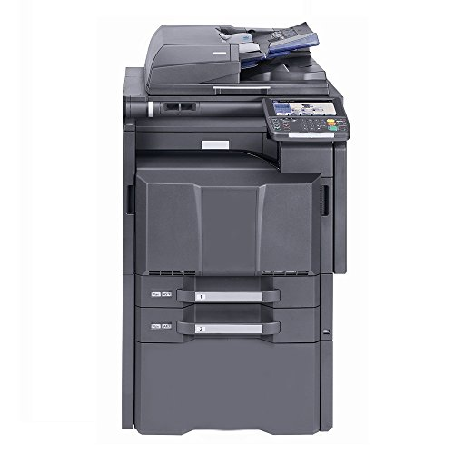Kyocera TASKalfa 5550ci Color Copier Printer Scanner All-in-One MFP - 11x17, 12x18, Auto Duplex, 55 ppm, 2 Trays and Stand (Printer Laser In All Kyocera One)