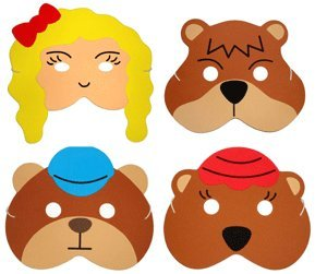 Goldilocks and the Three Bears - Storytelling Foam Play Masks