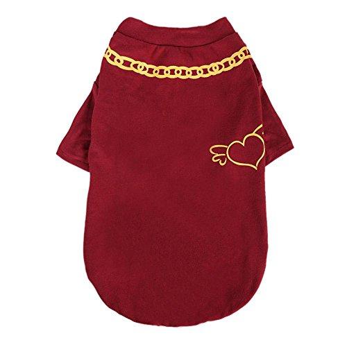 Elastic Pet Dog Clothes Cotton Fabric B Letter Print Coat Jacket Vest Pet Outfit Clothing Costume -