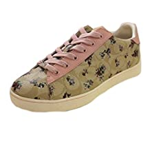 Coach Low Top Floral Print Sneaker Shoes