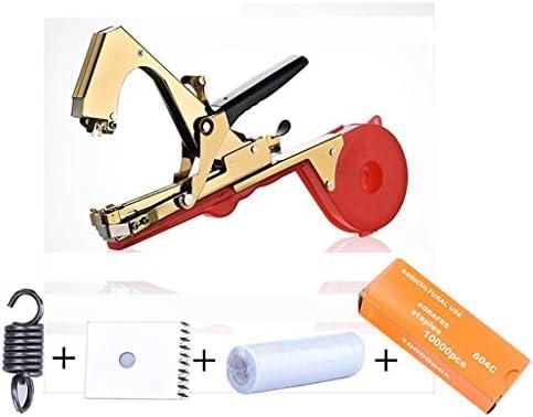 Garten Rebe Binden Tape Tool tun Weg Tape Tool Landwirtschaft Tapener Hand Bindemaschine for Obst Blume Gemüse Rebe Tomaten (Size : Machine+20 roll Tape)
