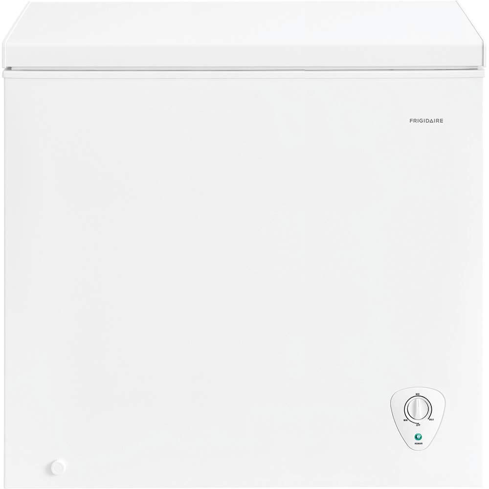Ft Frigidaire 7.2 Cu White Chest Freezer