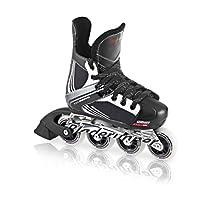 Bladerunner Youth Dynamo Adjustable Hockey Skate with 72mm Wheels