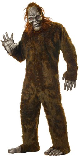 Sasquatch Mask (Big Foot Adult Costume - One Size)