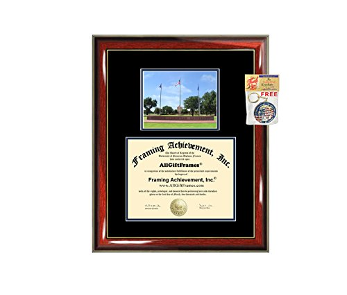 Lubbock Christian University Diploma Frame Graduation Degree Matted LCU College Campus Photo Graduation Gift Certificate Plaque Framing Collegiate by AllGiftFrames