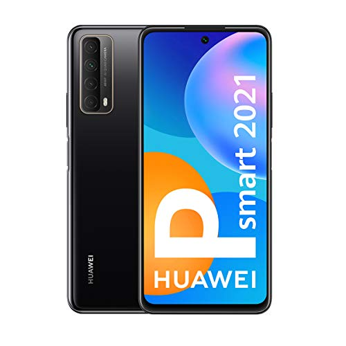 Huawei P smart 2021 16.9 cm (6.67″) 4 GB 128 GB Dual SIM 4G USB Type-C Black Android 10.0 Huawei Mobile Services (HMS) 5000 mAh – Huawei P smart 2021, 16.9 cm (6.67″), 4 GB, 128 GB, 48 MP, Android 10.