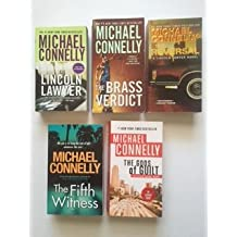 Michael Connelly (Set of 5) Lincoln Lawyer; Brass Verdict; Reversal; Fifth Witness; Gods of Guilt