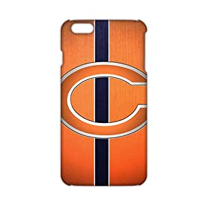 SHOWER 2015 New Arrival chicago bears 3D Phone Case for iphone 6 plus